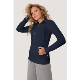 HAKRO Damen Sweatjacke College