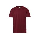 HAKRO T-Shirt Classic  Farbe: (017)weinrot |...