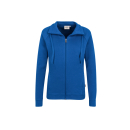 HAKRO Damen Sweatjacke College  Farbe: (010)royalblau |...